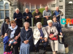 Members of Capel Bethesda at Coleg y Bala