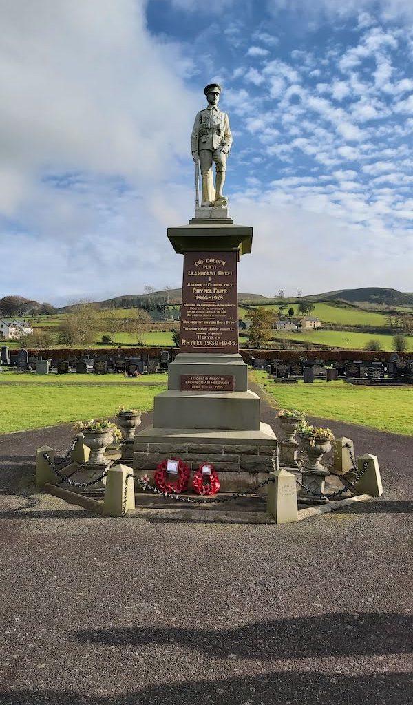 Llanddewi Brefi War Memorial